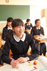 学校特集 大注目!ミッションスクール特集 愛徳学園中学校・高等学校